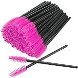 GreenLife 50 pcs/100 pcs/150 pcs/200 pcs/300 pcs/400 pcs/600 pcs/800 pcs Eyelash Brush Mascara Wands Applicator (50pcs…