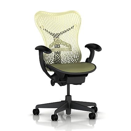 mirra office chair miller herman miller mirra chair basic home office desk task graphite frame citron triflex seat back amazoncom