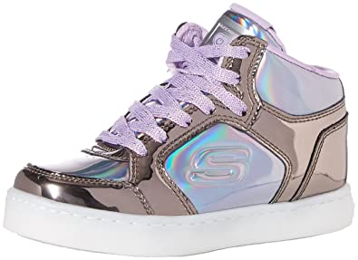 best cheap 92a55 7edf9 Skechers Mädchen Energy Lights - Shiny Brights Hohe Sneaker
