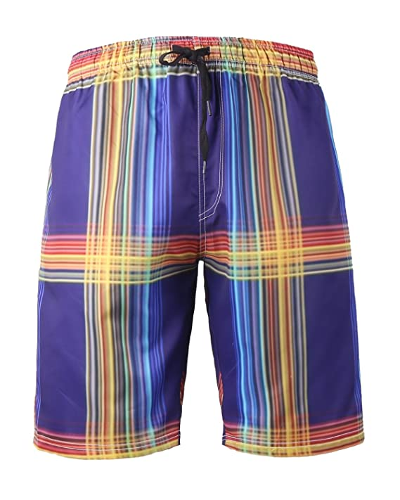 c64dfef127 HONGDIHAO Mens Swim Trunks, Quick Dry Swimming Trucks For Men, Big and Tall  Beach