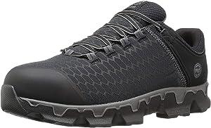 Timberland PRO Men's Powertrain Sport Alloy Toe EH Industrial Construction Shoe Black