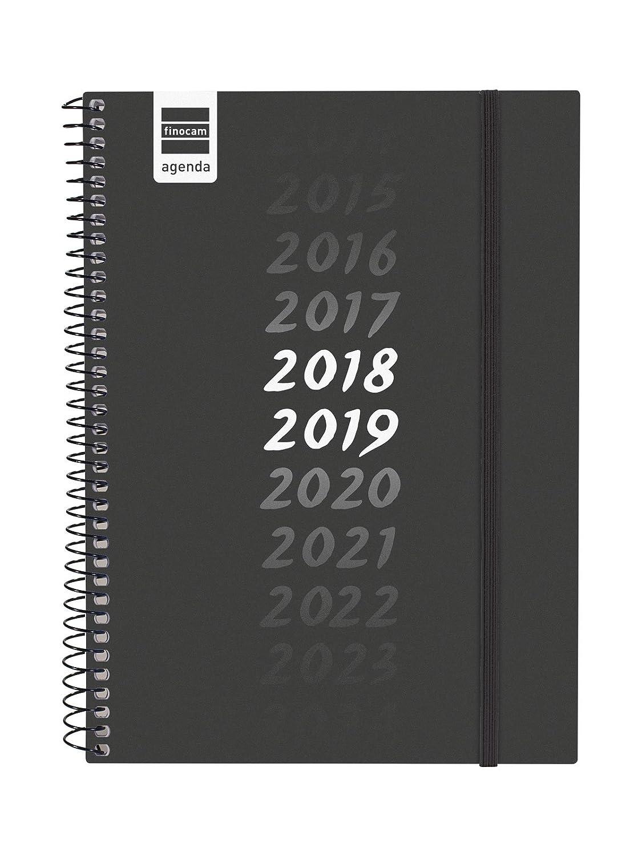 Finocam Secundaria - Agenda 2018-2019 semana vista apaisada español, 155 x 212 mm, cronos
