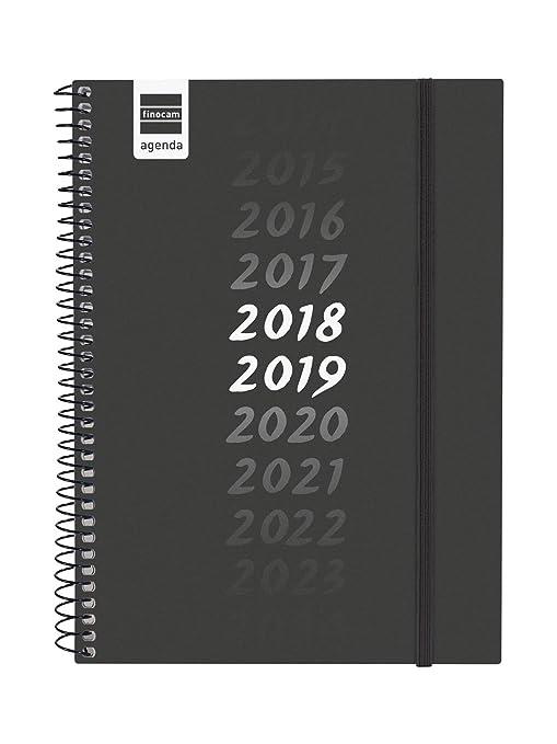 Finocam Secundaria - Agenda 2018-2019 semana vista apaisada español, 155 x 212 mm