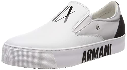 Armani Exchange Metallic Slip On, Zapatillas para Mujer ...
