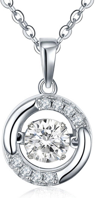 MMC Long Choker Topaz Silver Pendants Necklaces