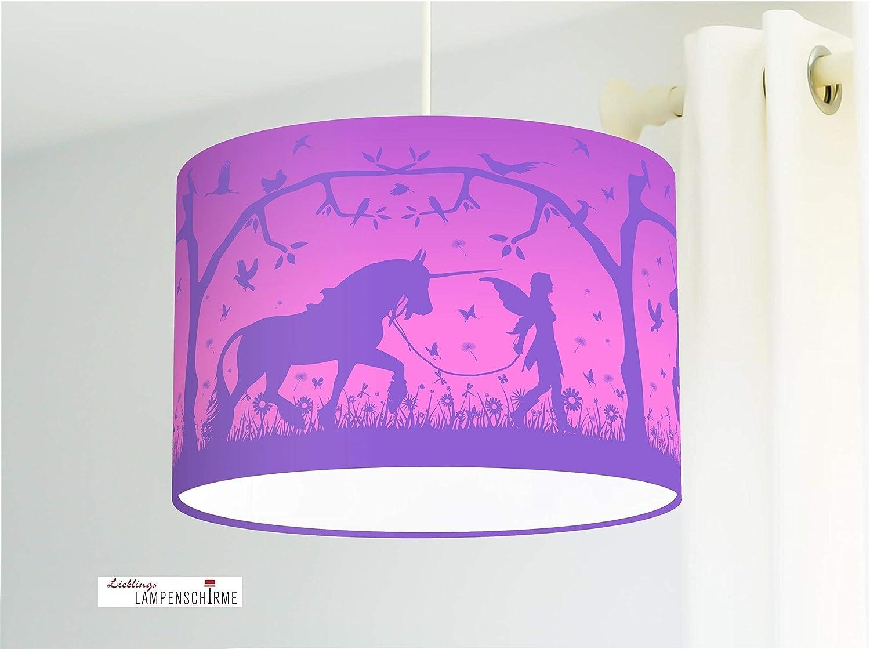 Lampe Einhorn Mädchenzimmer