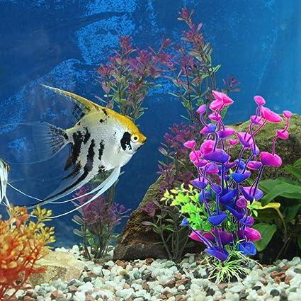 Hemore - Adorno Artificial para Acuario con diseño de Flores de mar para jardín, Paisaje