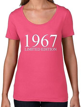 Amazon.com: Edición limitada 1967 – Mujer cuello redondo ...