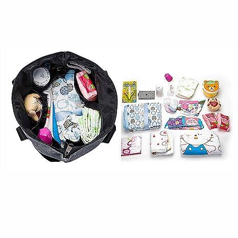 SM SunniMix Damen Windel Wickeltasche Mama Handtasche Babytasche Umh/ängetasche Schultertasche Kinderwagentasche