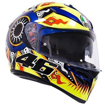 AGV K3-SV Rossi 2002 Motocicleta Casco