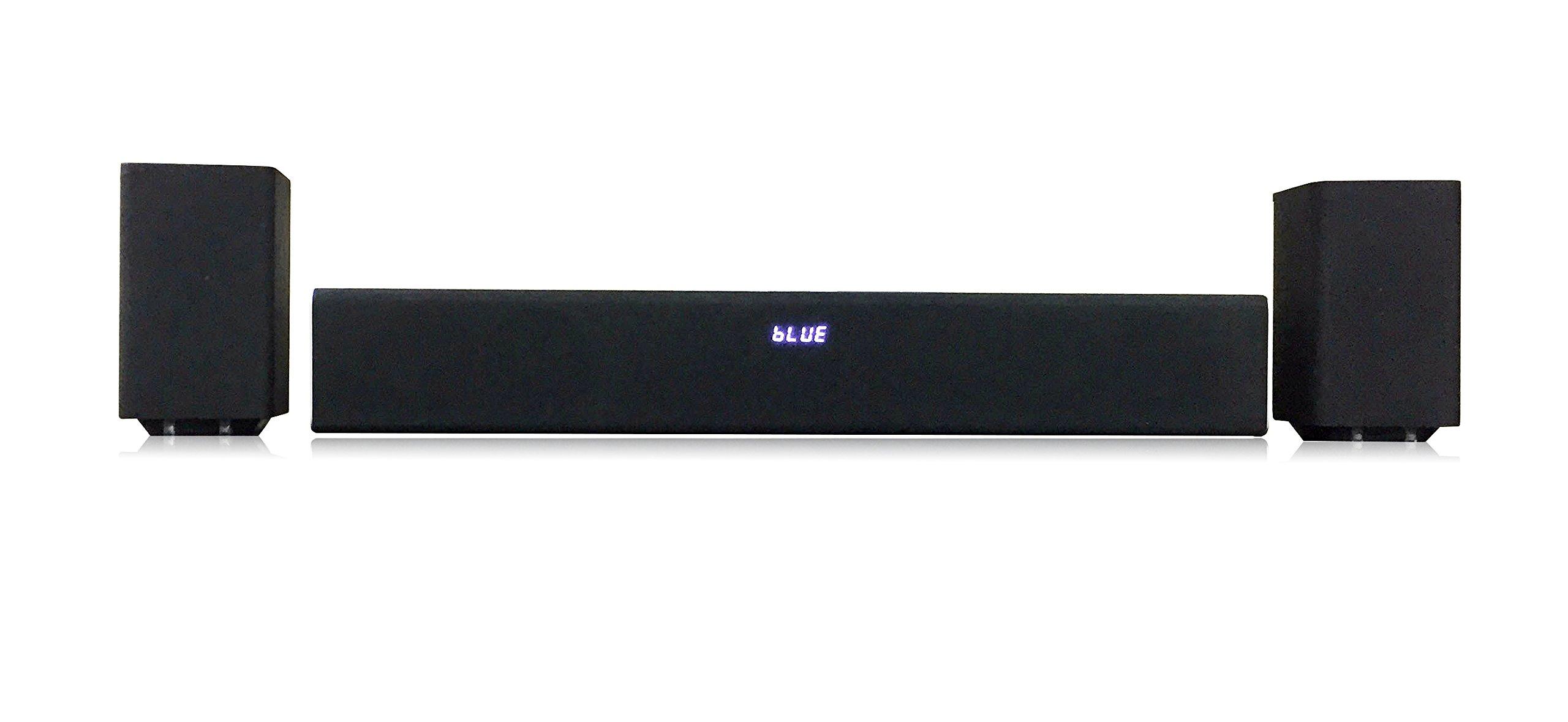 Proscan Detachable 2.1ch Bluetooth Soundbar with Subwoofer