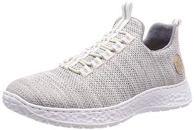 Sonderrabatt von Großhandelspreis 2019 am besten billig Rieker Damen N4174-31 Slip On Sneaker