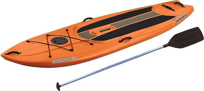 Amazon.com: Tabla de paddleboard de Sun Dolphin Seaquest de ...