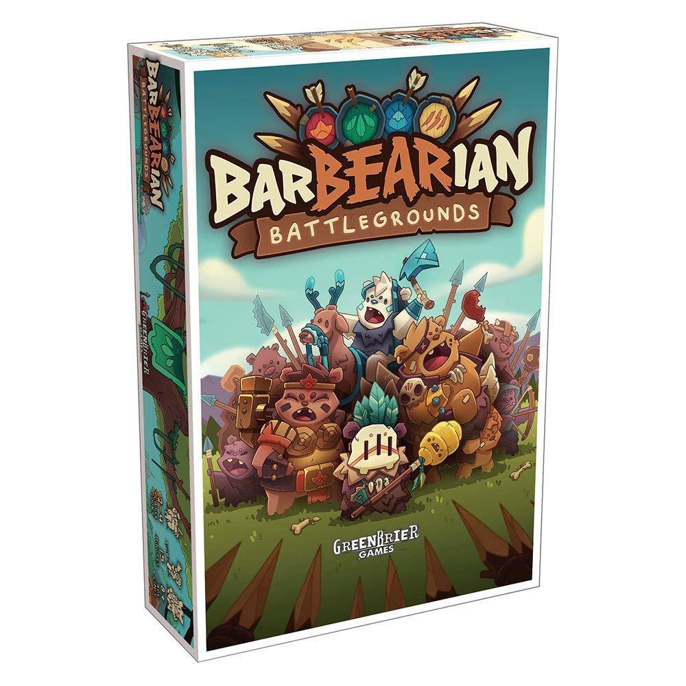 Amazon.com: Greenbrier juegos barbearian Battlegrounds: Toys ...