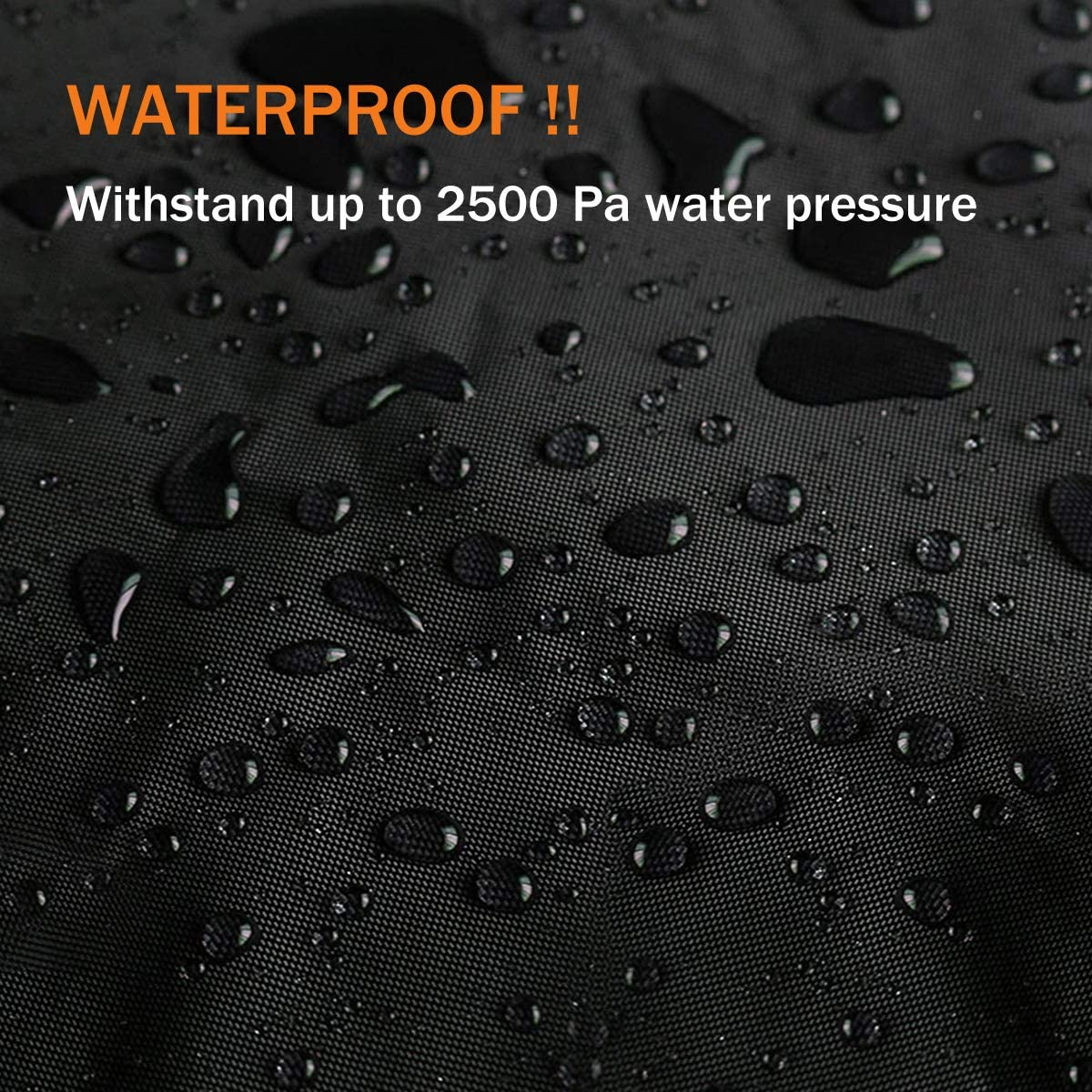 UTV Cover Waterproof 4-6 Seater Heavy Duty Oxford Cloth Black Suit for Polaris RZR Yamaha Can-Am Defender Kawasaki Ranger
