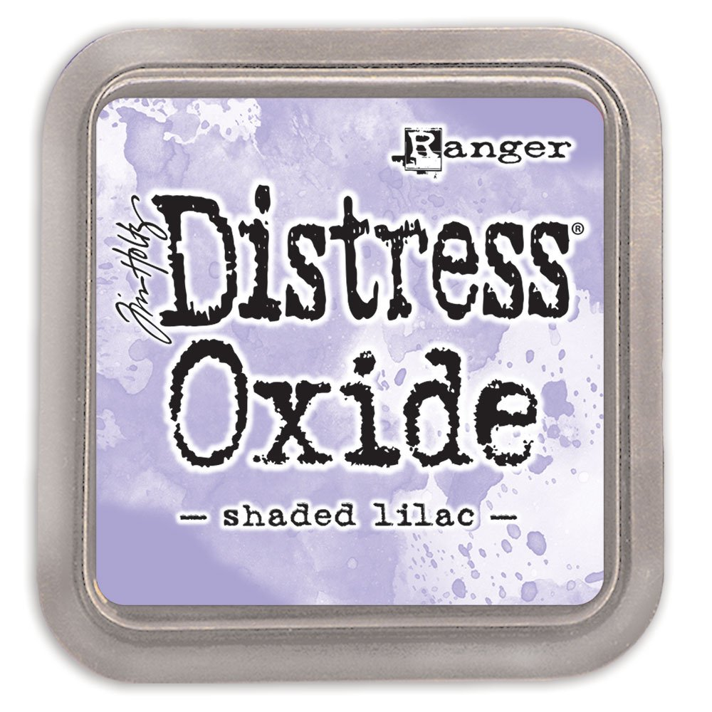 Ranger Tim Holtz Distress ossidi Pad, inchiostro, Shaded lilla, 7.62 x 7.62 x 1.91 cm TDO56218