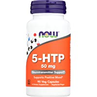 Now Foods, 5 HTP 50Mg, 90 Capsules