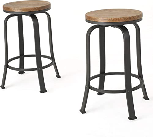 Christopher Knight Home 299092 Skyla Rotating Counter Stool