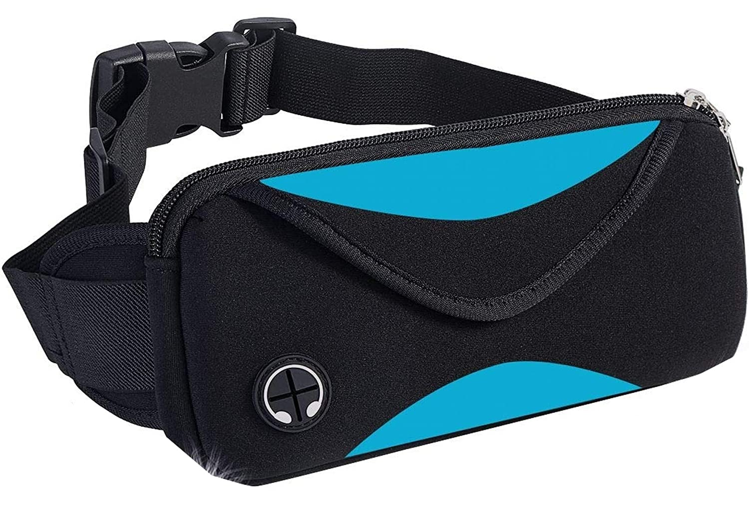 Vimi Running Belt with Extender Belt,Fanny Pack Workout Belt Sports Waist Pack Belt Pouch Bag for Apple iPhone XR XS 8 X 7 and Samsung in Running Walking Cycling Hiking