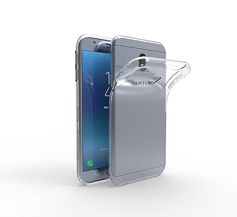 SDTEK Samsung Galaxy J3 (2017) Funda [Transparente Carcasa] Case Bumper Cover Suave Crystal Silicona Samsung Galaxy J3 (2017)