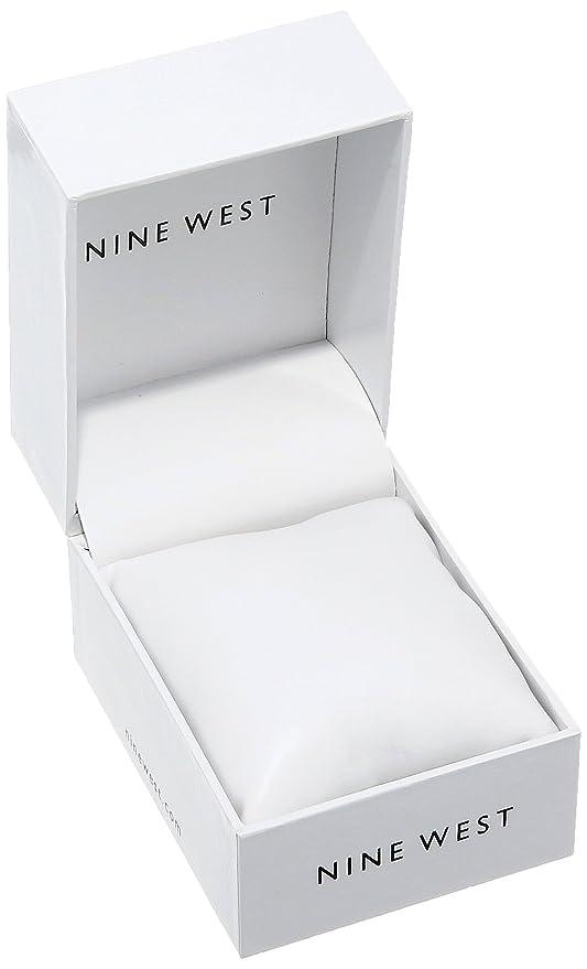 Amazon.com: Nine West Womens NW/1812PKRG Matte Blush Pink Rubberized Bracelet Watch: Watches