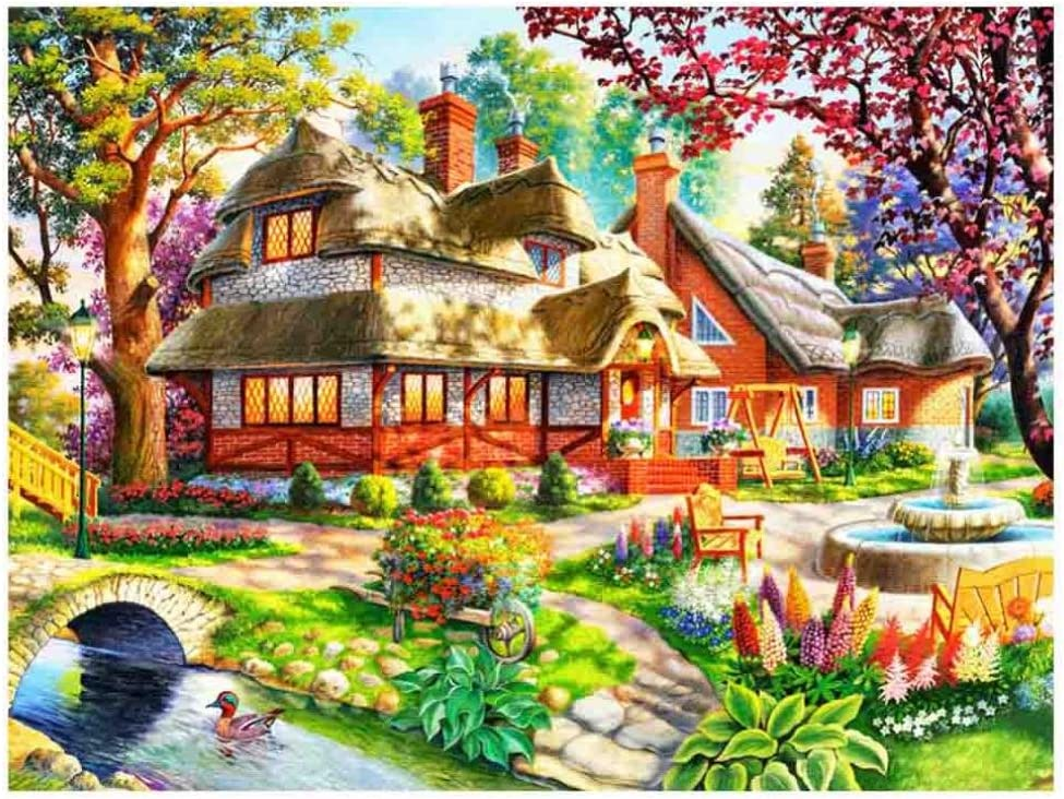 5D Diamond Painting Embroidery Cross Stitch Craft Landscape for Home Multi Decor