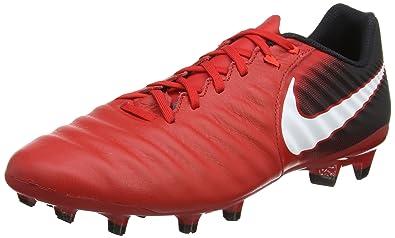 premium selection a0ebc ade84 Nike Tiempo Ligera IV FG, Botas de fútbol para Hombre, Rojo (University  Red/Black/Bright Crimson/White 616), 43 EU: Amazon.es: Zapatos y  complementos