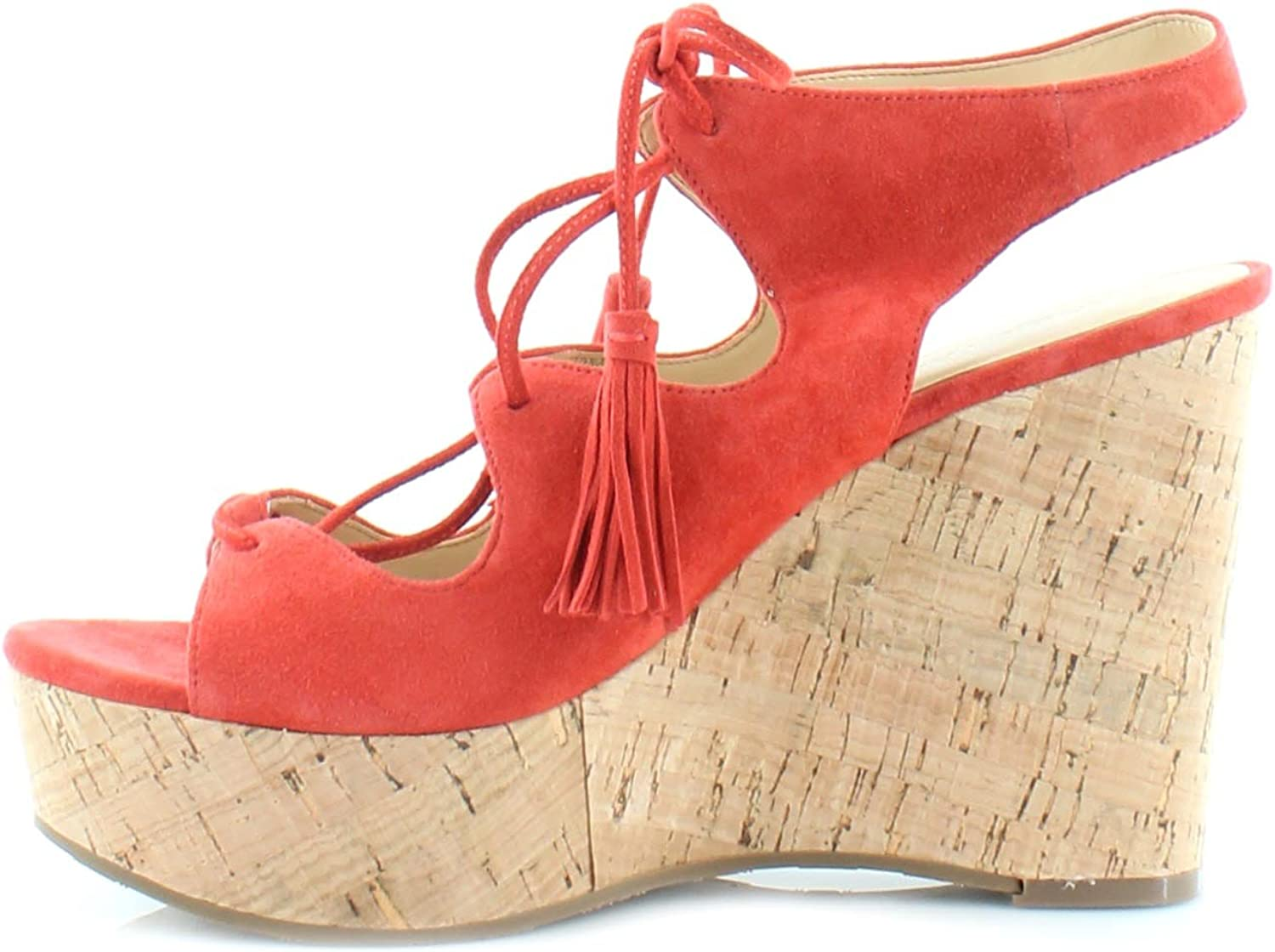 Ivanka Trump Zenia Women/'s Sandals Medium Red