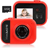 slopehill Kids Camera - 8MP Kid Digital Camera Gifts for Age 3-12 Years Old Boys Girls Toddler, 1080P High-Resolution…