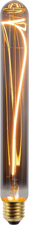 Lucide LED Bulb Gl/ühfadenlampe - E27-1x5W 2200K Rauchfarbe Grau LED Dim /Ø 3,2 cm