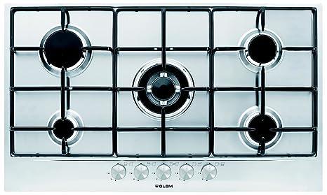 Glem GT 955 IX Piastra di Cottura a Gas: Amazon.it: Casa e cucina
