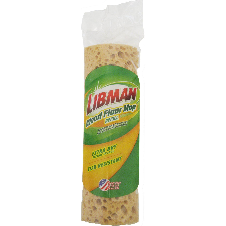 Libman 2027 Wood Floor Sponge Mop Refill