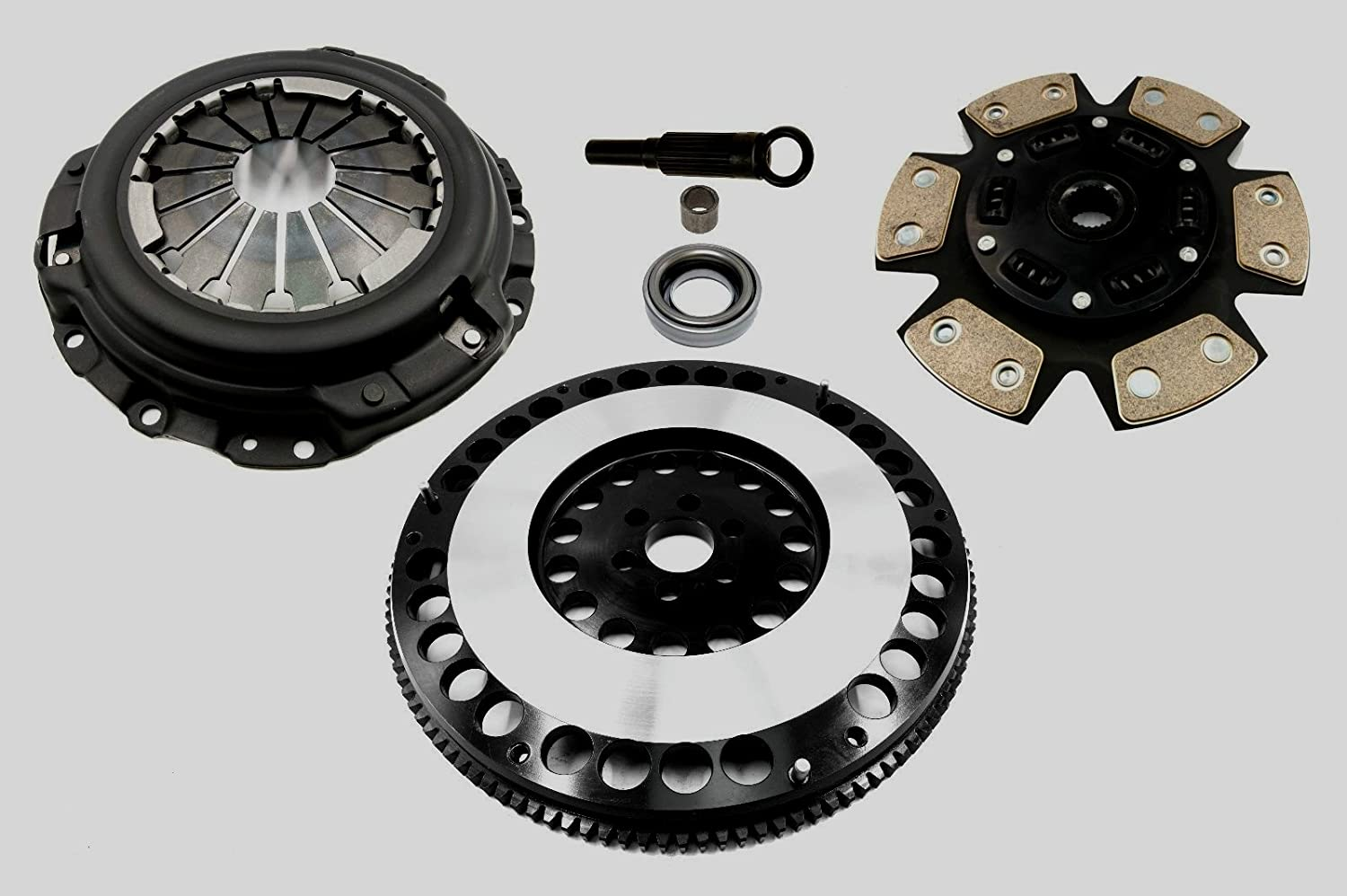 Clutch Kit Complete Set Stage 3 Racing Heavy Duty High Performance Kit & Flywheel 12LBS For Nissan 240SX KA24DE 2.4L Automotive Clutch Pressure Plates ...