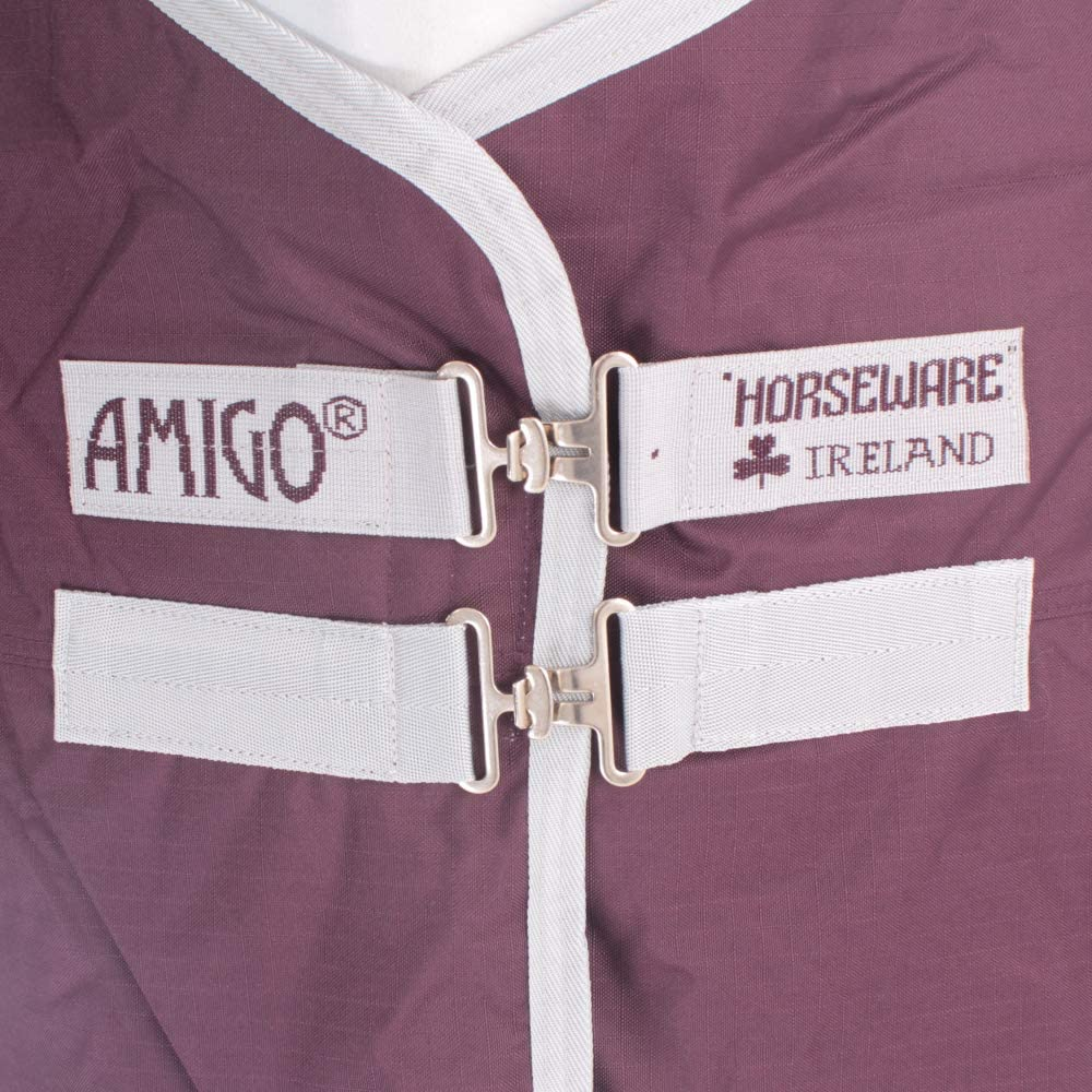 Horseware Amigo Hero Ripstop 50g Weichen Teppich 130cm Fig//Silver
