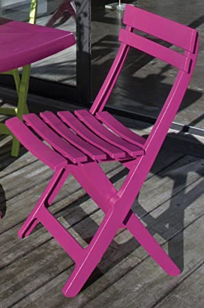 Grosfillex Miami Folding Balcony Chair / Furniture All-Plastic ...