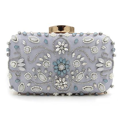 Flada femmes soir pochette sacs à main perles de mariage Party de noces de bal Or vkdVmNp