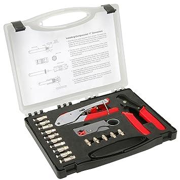 Partes Express Cable Coaxial para Cable Kit de reparación