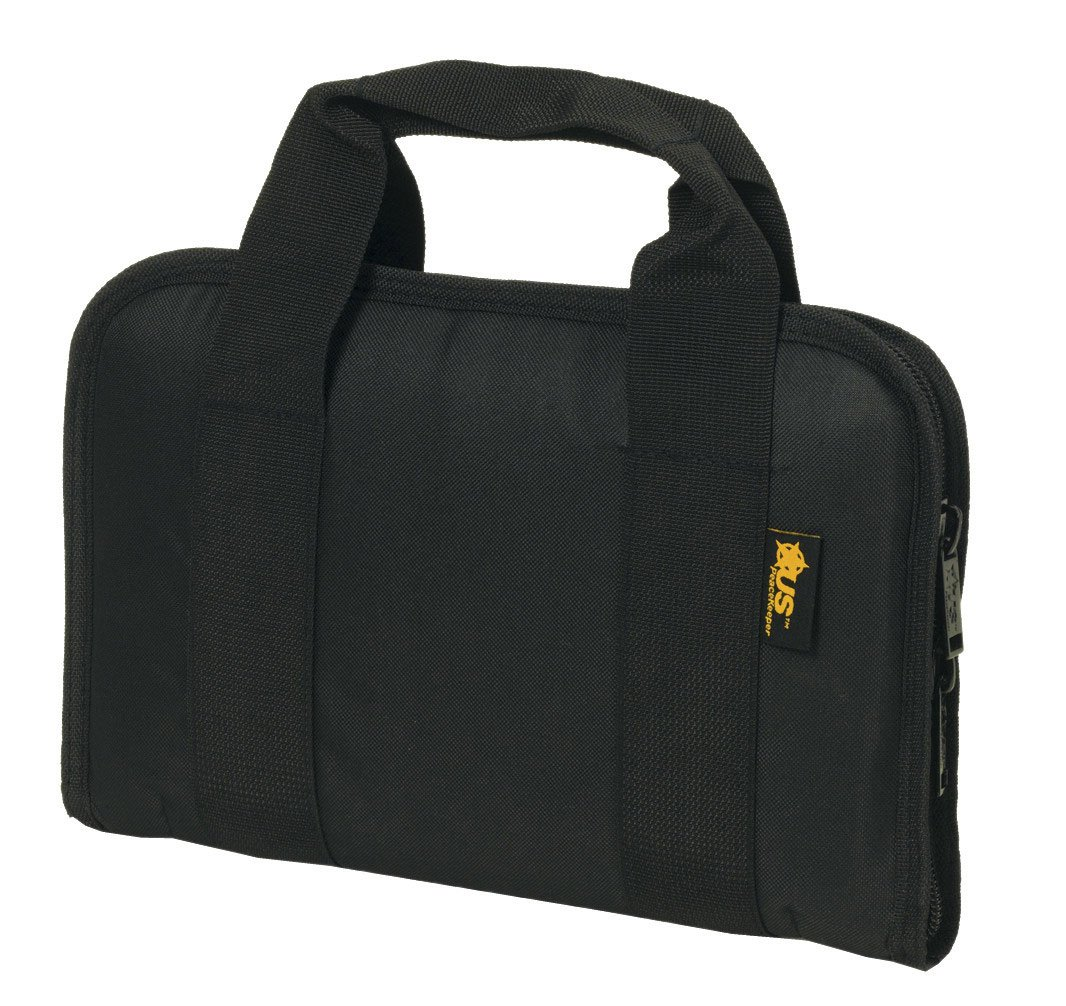 US PeaceKeeper P21108 Attache Gun Case (Black) by US PeaceKeeper Products