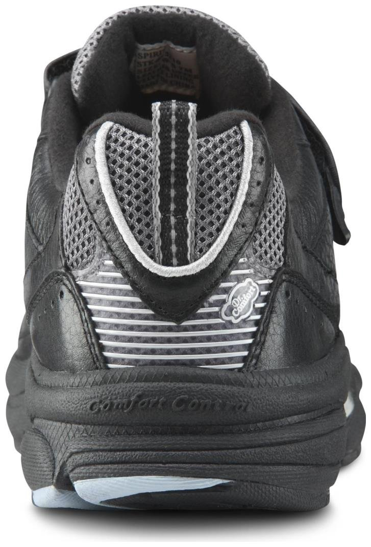 Dr. Comfort Women's Spirit Black Diabetic Athletic Shoes by Dr. Comfort (Image #5)