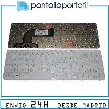 IFINGER Teclado español para HP COMPAQ 15 h050ns K4D50EA ...