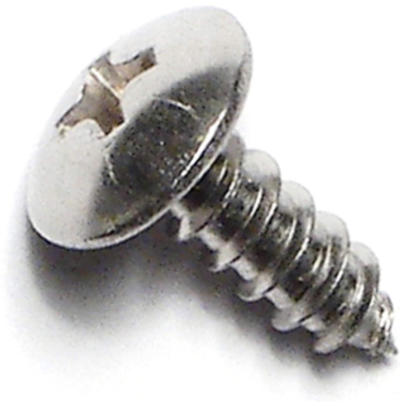 Hard-to-Find Fastener 014973449322 Phillips Truss Sheet Metal Screws Piece-100 6 x 1-1//4