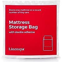 Linenspa Mattress Storage Bag with Double Adhesive Closure