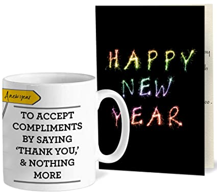 buy tied ribbons new year gift greeting card for corporate
