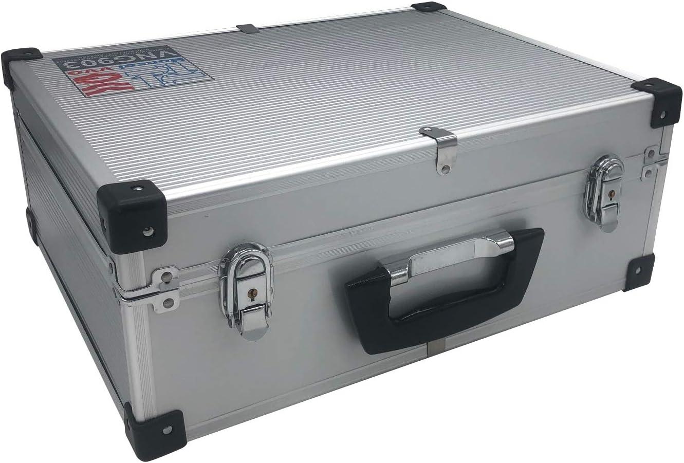 VVG Profi Aluminium Koffer 42,5x16,5x33 cm Schaumstoff Universalkoffer Werkzeugkoffer