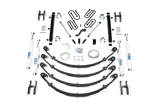Amazon Com Bds 411h 87 95 Yj Soft Top 4 54 5 Spring Suspension Kit