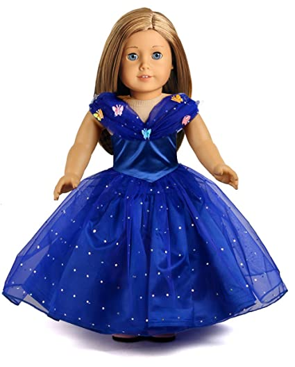 CINDERELLA GOWN FOR AMERICAN GIRL DOLLS