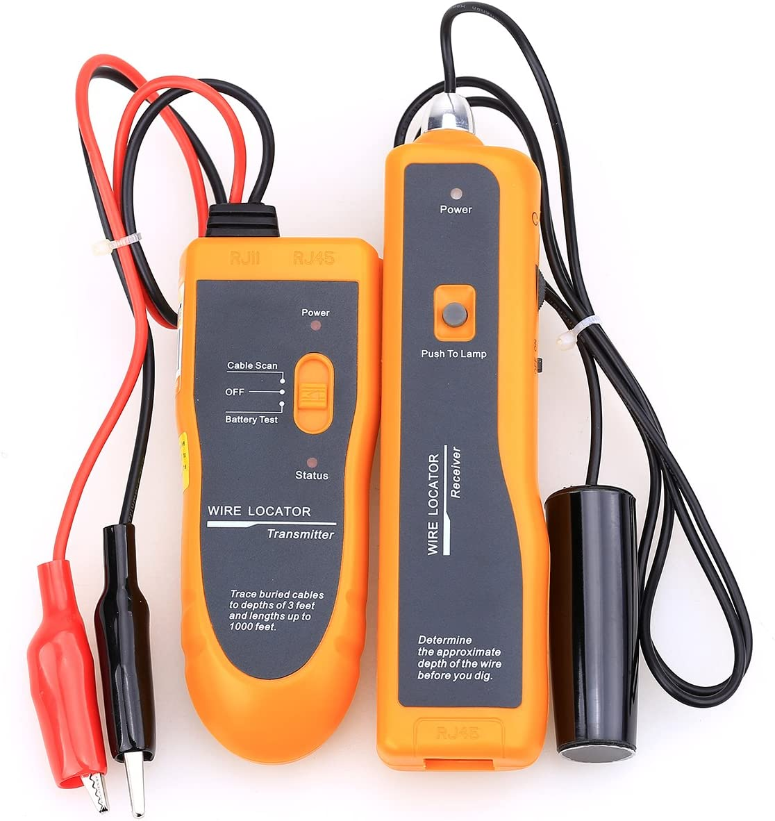 Earphone Underground Wire Circuit Network Cable Tester Locator Tracker Finder