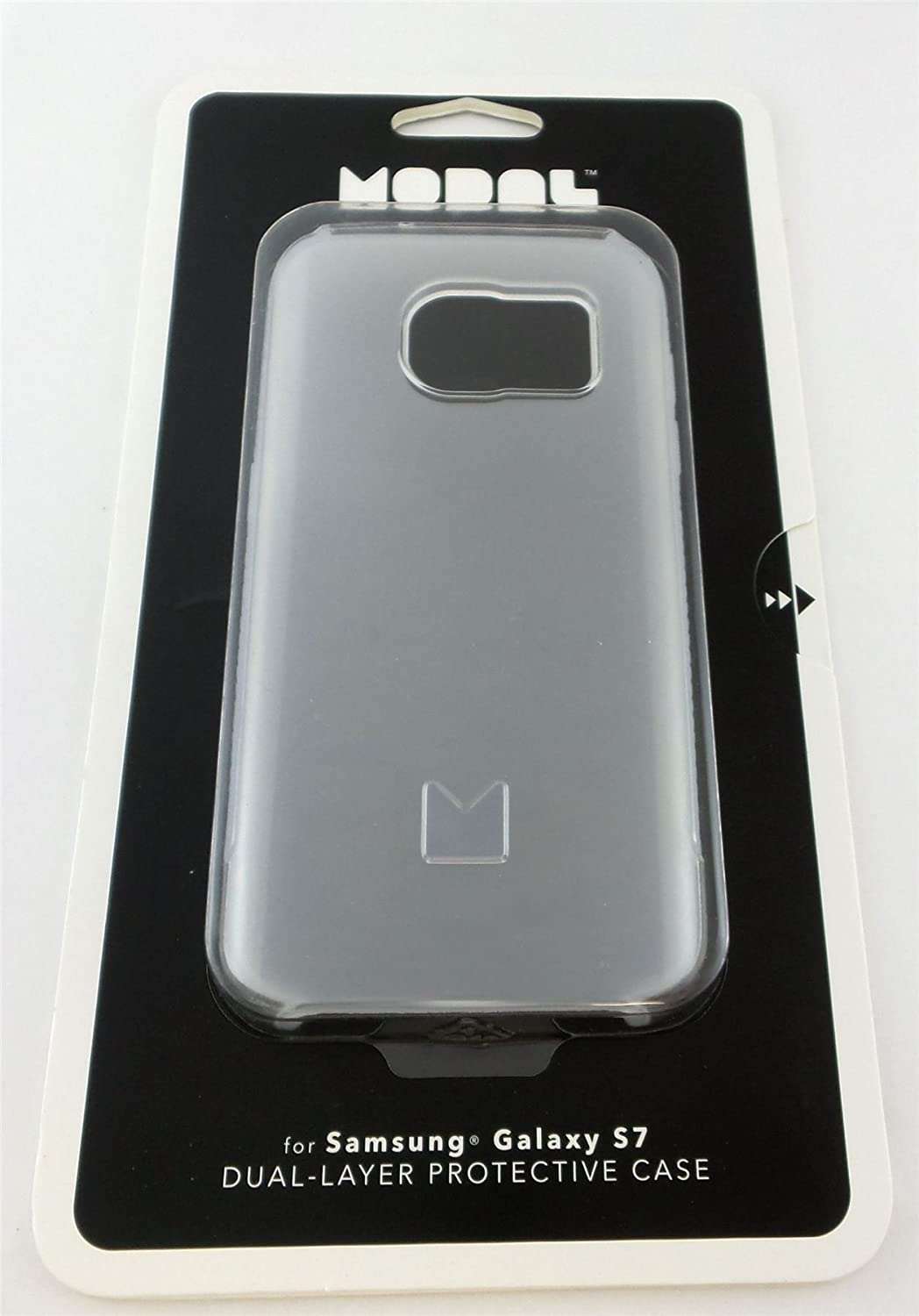 online store 61bc0 28a43 Modal Dual Layer Case for Samsung Galaxy S7 Clear/White MD-MSGS7CC