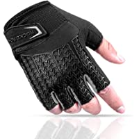 ROCKBROS Cycling Gloves Half Finger Men&Women Mountain Bike Bicycle Short Gloves with Gel Liquid Silicone +Thick SBR…