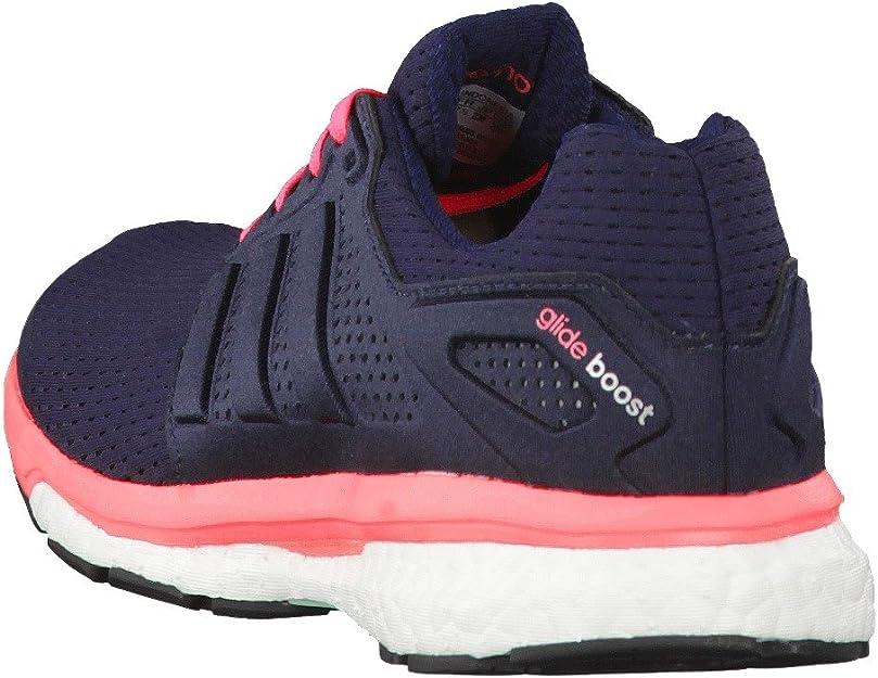 adidas Supernova Glide Boost 7 W - Zapatillas para Mujer, Color Azul Marino/Plata/Rosa, Talla 44 2/3: Amazon.es: Zapatos y complementos